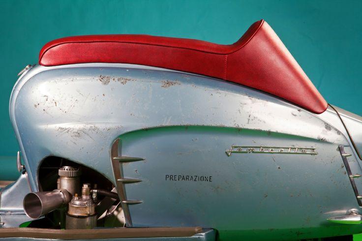 A beautiful Ancillotti Restoration by Rimini Lambretta Centre.
