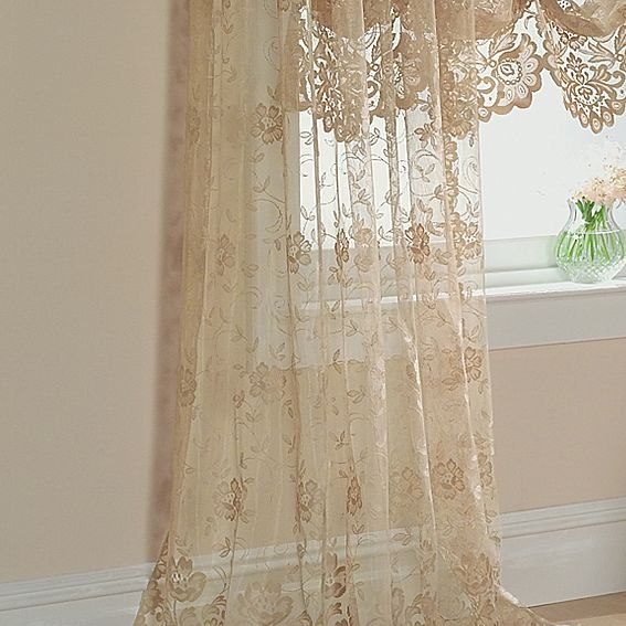 Jcp Home Shari Lace Rod Pocket Panel Jcpenney