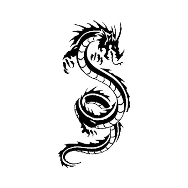 Dragon tattoo.png Rise of the Dragon Wiki ❤ liked on Polyvore
