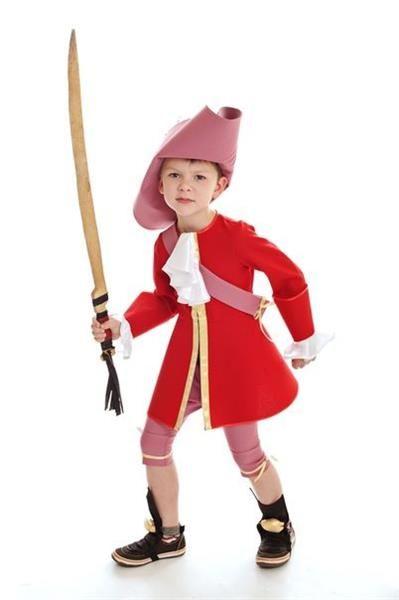 Детский карнавальный костюм капитан крюк