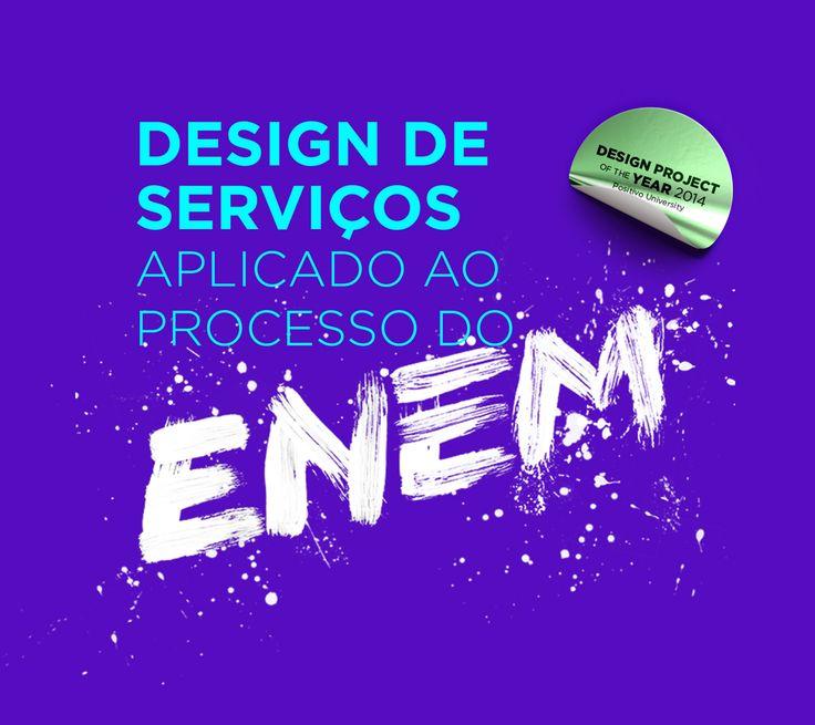Este projeto foi desenvolvido como trabalho de conclusão de curso de Design Gráfico e ganhou o prêmio de projeto do ano em design gráfico em 2014 pela Universidade Positivo. O trabalho aborda o ENEM, com o ponto de vista do design de serviços e inovação, …