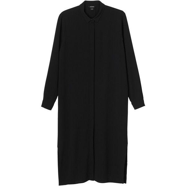 Monki | Dresses | Luca dress (890 MXN) ❤ liked on Polyvore featuring dresses, pattern dress, mixed print dress, shirt-dress, monki and print dress
