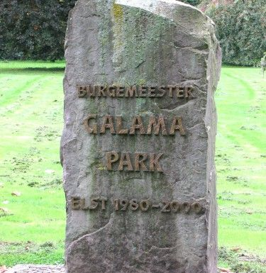 standbeeld Galamapark