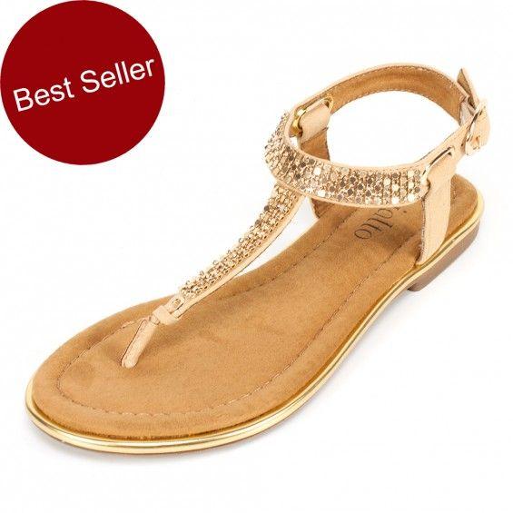 Rialto Sequin Sandals
