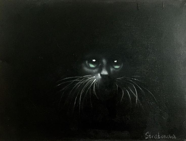 "Check out my @Behance project: ""Black cat."" https://www.behance.net/gallery/46661085/Black-cat"