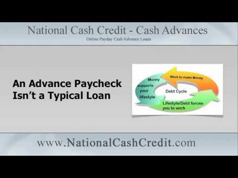 Break The Debt Cycle, Apply For An Advance Paycheck Loan: http://youtu.be/9bjx8um0n3E Apply at http://www.nationalcashcredit.com #paydayloan #cashloan