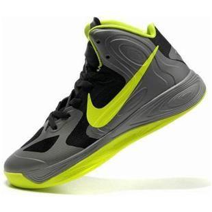www.asneakers4u.com Nike Zoom Hyperfuse 2012 Jeremy Lin Shoes Gray/Green