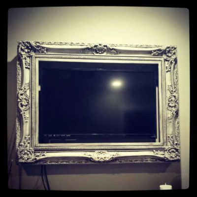 tv picture frame. frame your flat screen tv! genious | salon pinterest tvs, and screens tv picture