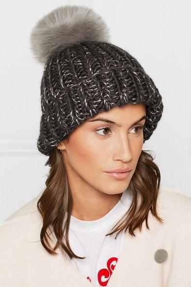 Eugenia Kim faux fur pom beanie hat. Worn by Kate Middleton a30585d7dd6