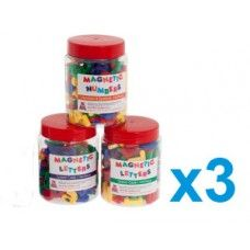 Set of Magnetic Characters made by Paul Norman Plastics Ltd in #Gloucestershire - £28.35