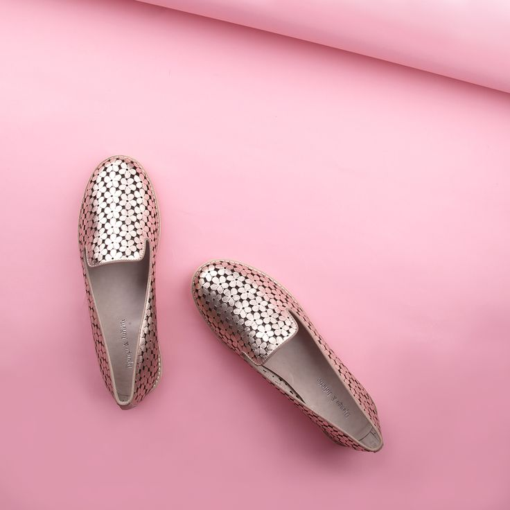 METALLIC VIBES ⭐ ⭐ ⭐   Shine bright with the Django & Juliette 'Arnold' punched leather loafers. Shop: https://www.shoeconnection.co.nz/womens/shoes/flats/django-juliette-arnold-punched-leather-loafer?c=Latte%20Champange