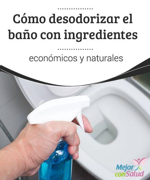 Cómo desodorizar el baño con ingredientes económicos y naturales  El baño es uno de los lugares que más frecuentamos a lo largo del día y, por obvias razones, es el que más atención e higiene requiere.