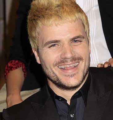 Dani Martin con ortodoncia