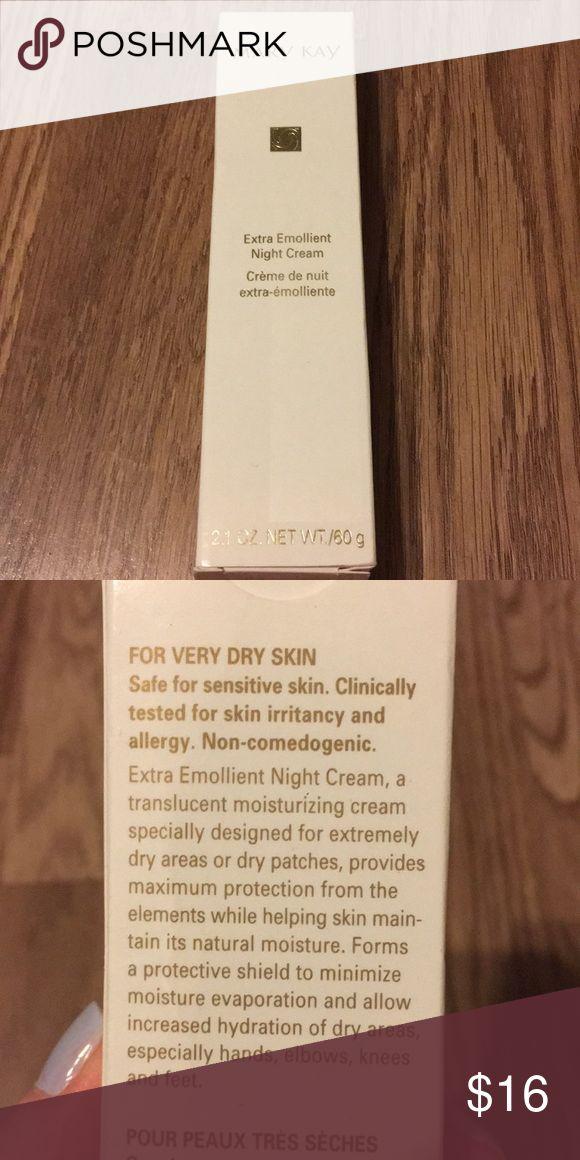 Mary Kay extra emollient night cream Mary Kay extra emollient night cream, brand new in box! Mary Kay Makeup