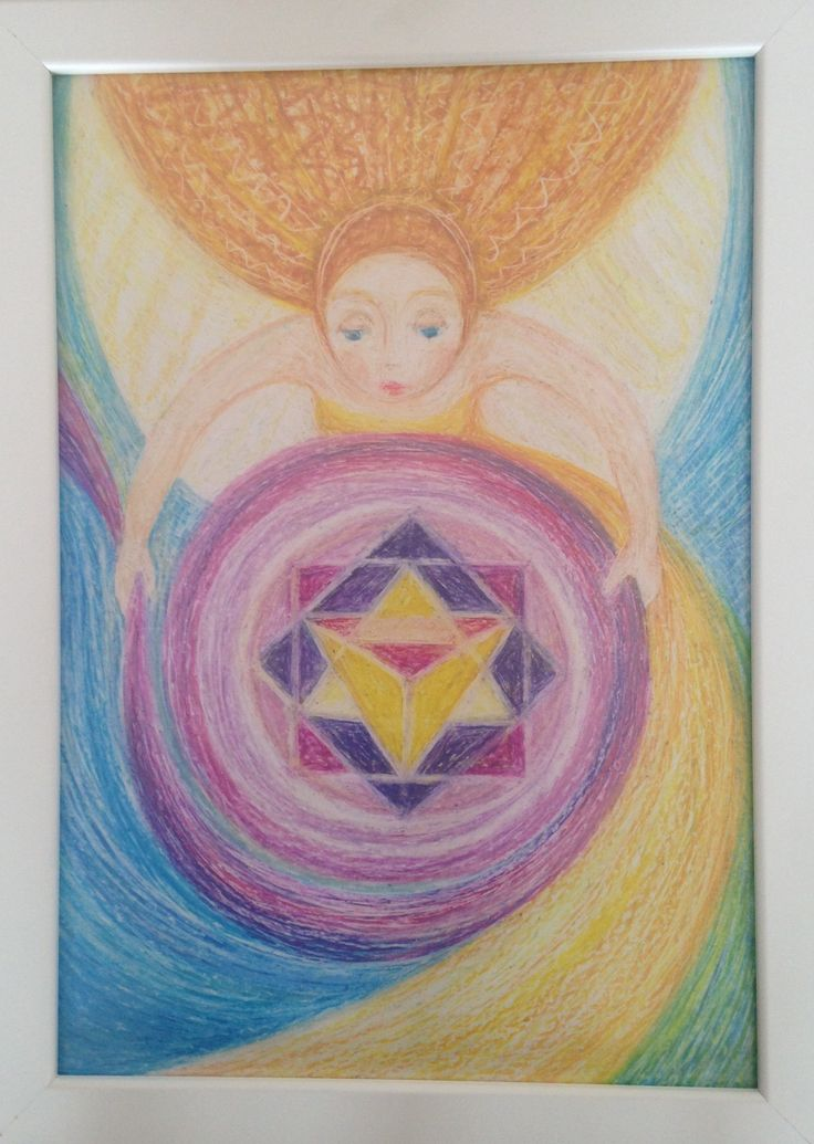 #esoteric#art#angel spiral