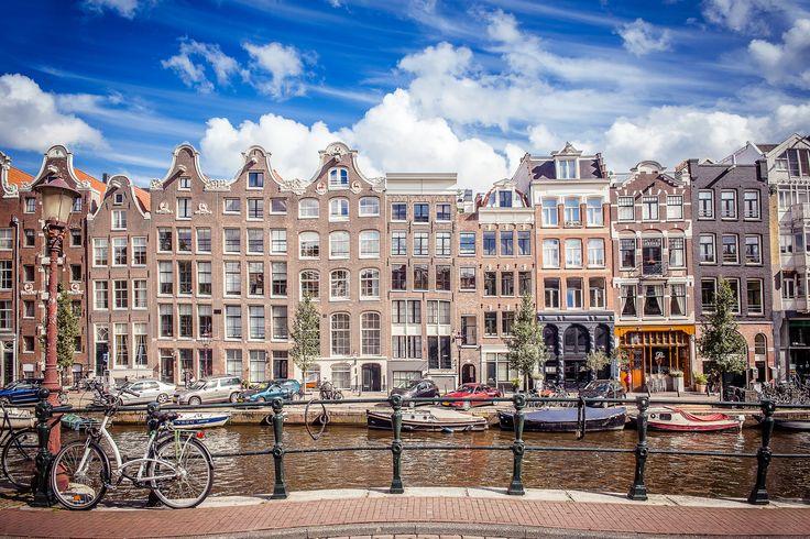 Les canaux d'#Amsterdam. #Hollande #PaysBas