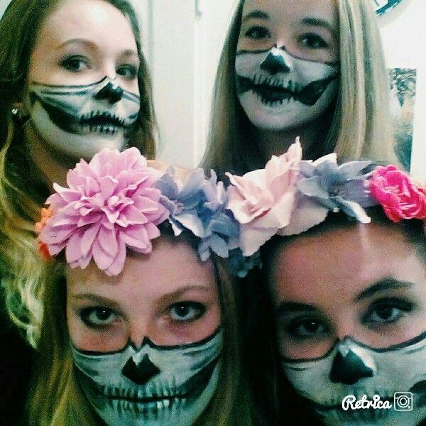 Skulls #halloween