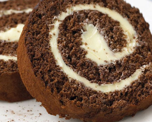 Chocolate and Buttercream Swiss Roll Recipe By Ocado