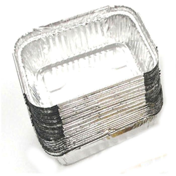 Embalagem Marmitex para Festas 12,7x9,8cm 220ml Com Tampa Branca 20 unid. | Marmitex e Kit Guloseima | Matsumoto