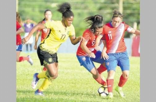 Jamaica's young Reggae Girlz clobbered host nation St. Kitts & Nevis 9-0, in the CFU Women's Under-20 soccer final at the Warner Park Sports Complex on Sunday to win the championships. In the curtain raiser, Haiti joined Jamaica in the CONCACAF Women's U-20 Championship for next year after di...