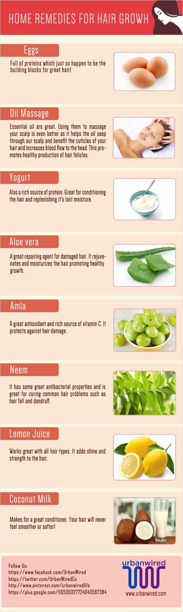 Hair Growth Remedies ~ 8 Effective Home Remedies for Hair Growth, Strength and Glow