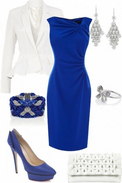 Look en azul francia http://bodasnovias.com/