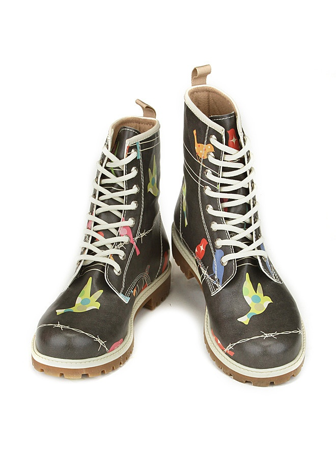 Dogo Bootz Birds In The Dark Shoes Boots Birds Dogo