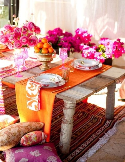 #table #setting #decorating