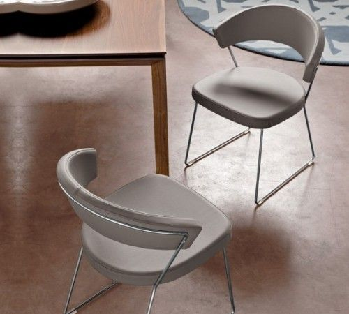 calligaris new york dining chairs faux leather