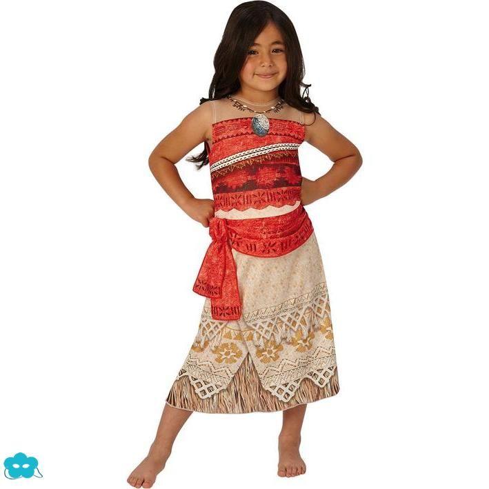 2018 Girls Kids Movie Polynesia princess Moana Costume Birthday Dress O73