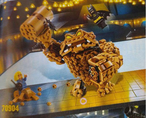 70904 Clayface Splat Attack : Premier visuel: Les premiers sets basés sur le film The LEGO Batman Movie commencent à être disponibles… #LEGO