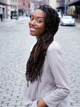 dreadlockheaven:    Franchesca Ramsey  Omg, loveeee her youtube videos. She's so funny. And her locs are GORGEOUS! Check her out here.    :)