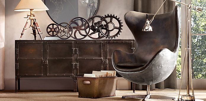 ... Leather Seating | Restoration Hardware | Interior Design I Rustic  Restoration | Pinterest | Restoration Hardware, Restoration And Copenhagen