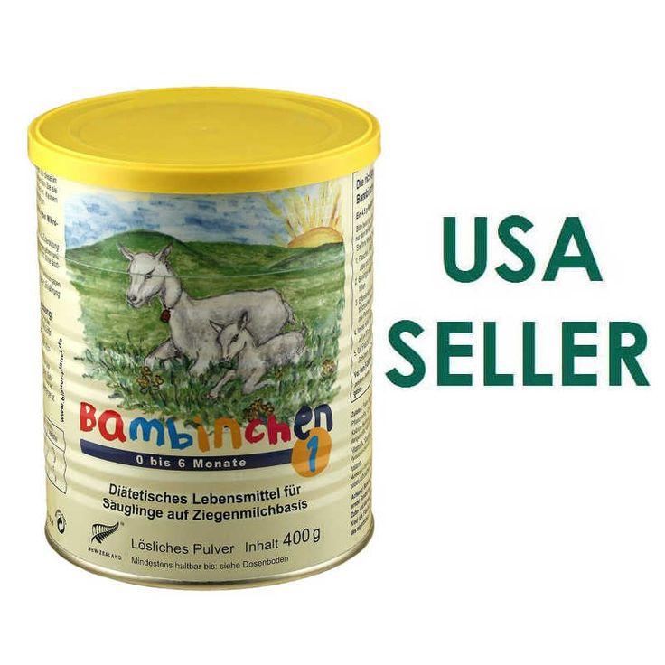 Bambinchen Goat Milk Infant Formula Stage 1 400g USA Seller