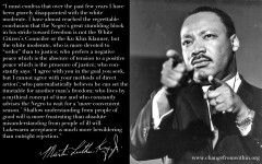 The Rev. Dr. Martin Luther King, Jr. on White Moderates   Change