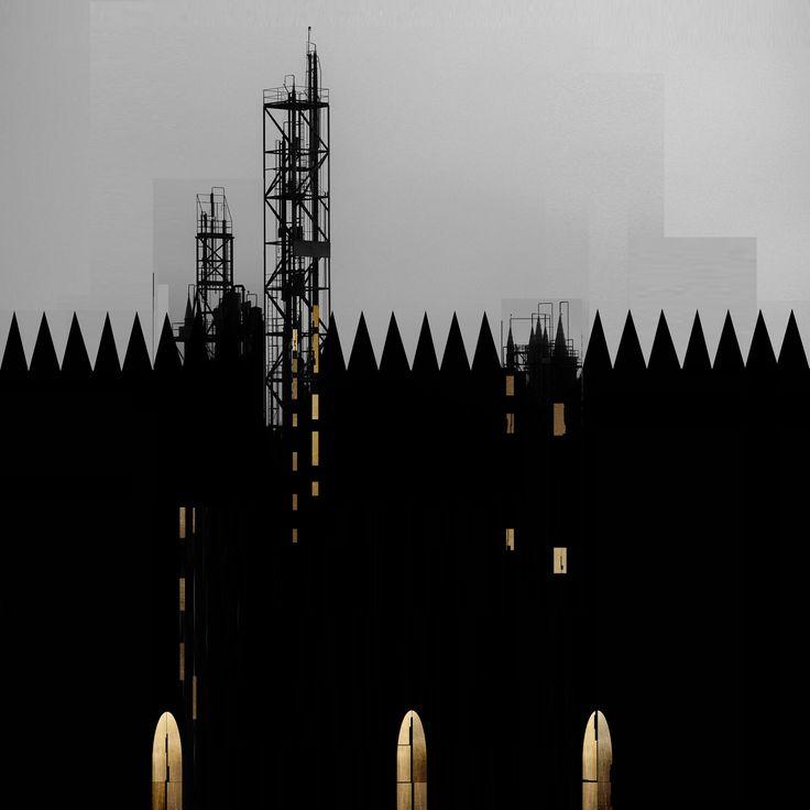 Beniamino Servino. Déco Cathedral. [Based on a photo by Francesco Cucchiara].