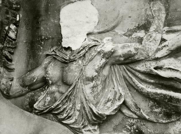 Partenon details , Acropolis, Athens (1928)