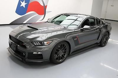 eBay: 2015 Ford Mustang 2015 ROUSH STAGE 3 MUSTANG S/C NAV ACTIVE EXHAUST 8K MI #384065 Texas Direct #fordmustang #ford