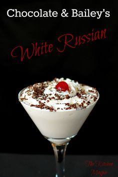 How To Make a Bailey's Chocolate White Russian (Let's try this and substitute Godiva chocolate liquor and ice cream)