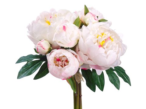 this silk garden peony bouquet is perfect for any bridesmaid