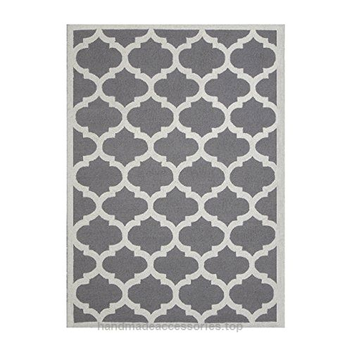 DecorShore Aroa Cupola Collection, Contemporary Area Rug, Hand Tufted, 100% Wool, Handmade Moroccan Trellis Design, Thick Plush Pile, Silver, 7'6″x9'6″ Check It Out Now     $589.00    The Aroa Cupola collection by DecorShore embodies a classic geometric rug design pattern that is most often referred ..  http://www.handmadeaccessories.top/2017/03/23/decorshore-aroa-cupola-collection-contemporary-area-rug-hand-tufted-100-wool-handmade-moroccan-trellis-design-thick-plush-pile-silv..