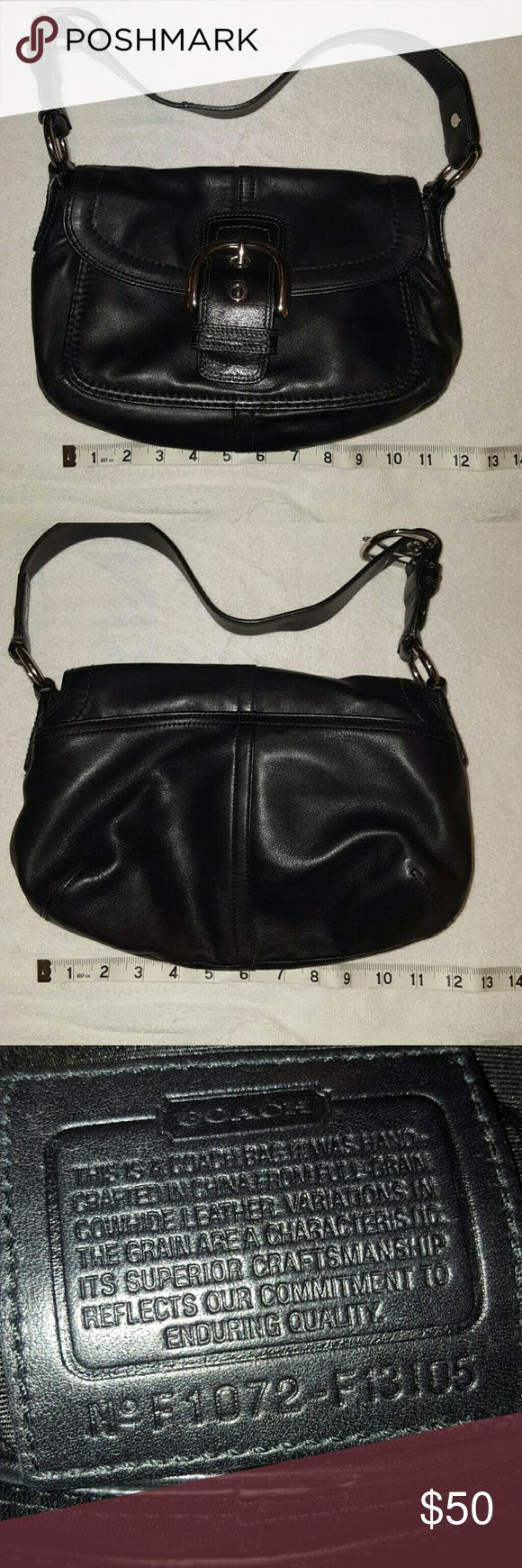 Black Coach Purse Black Coach Purse Coach Bags Shoulder Bags