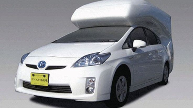 Toyota Prius camper conversion has us charging for the woods - Autoblog