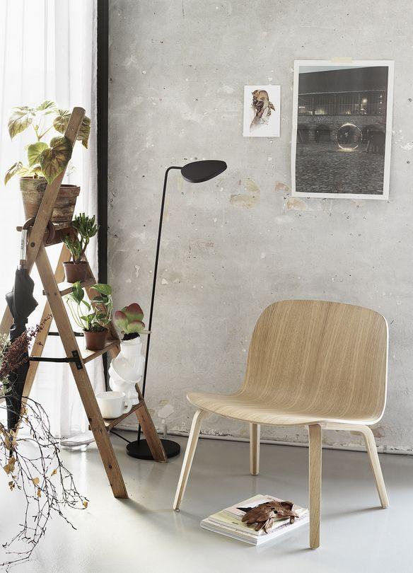 Stuhl Visu Breit / Holz, Eiche Natur Von Muuto Finden Sie Bei Made In  Design, Ihrem Online Shop Für Designermöbel, Leuchten Und Dekoration.
