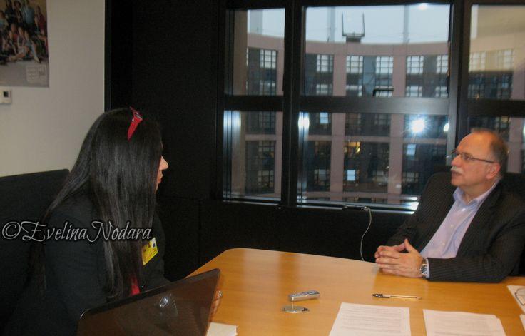 Mep European Parliament Vice President Dimitris Papadimoulis european parliament strasburg