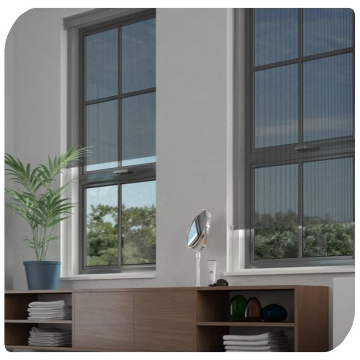 Linear Black Roller Blind