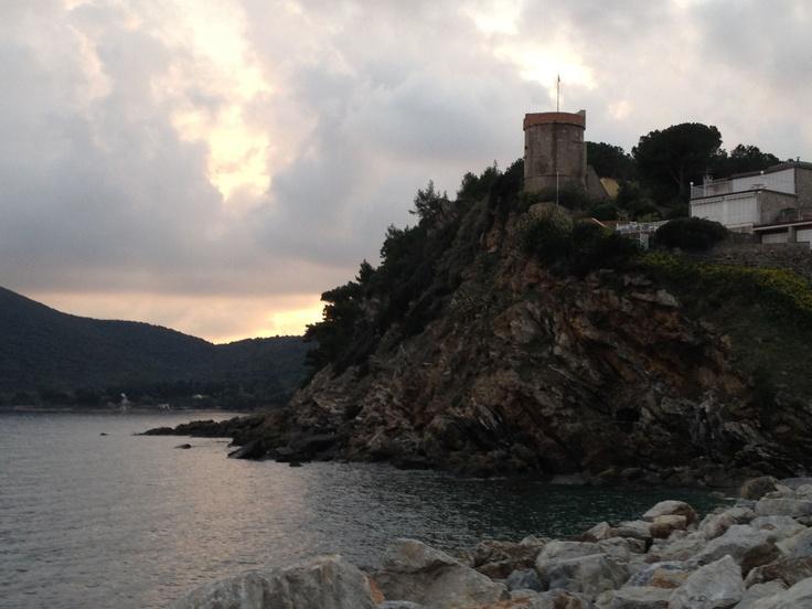 la torre di Marina di Campo - Isola d'Elba -