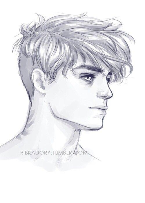 Boy hair...