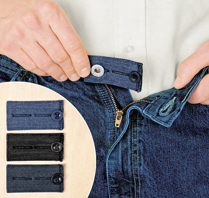 Easy Fit Buttons for Jeans by Easy Fit. $9.50. (Set of 3) Easy Fit Buttons for Jeans