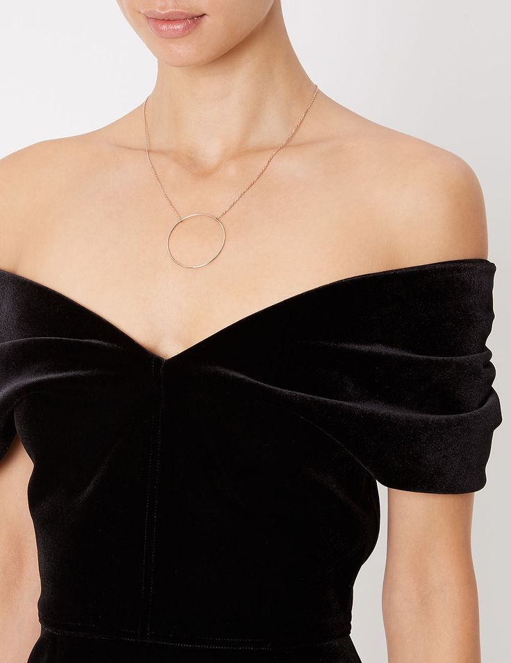 Black Velvet Tamara Dress                                                                                                                                                                                 More